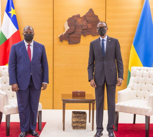 President Touadera of Central Africa in Rwanda for State Visit | Kigali, 5 August 2021